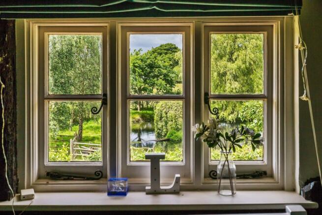 house. estate agency Alfold window