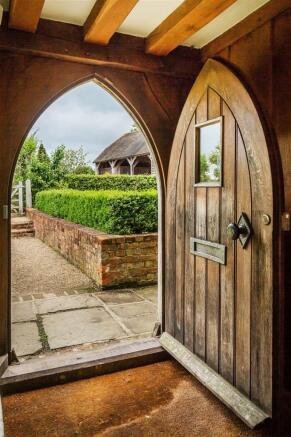 house. estate agency Alfold front door