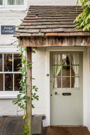 house. estate agency Milford front door