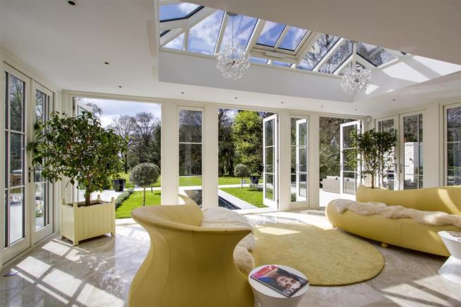 house. estate agency Dunsfold orangery