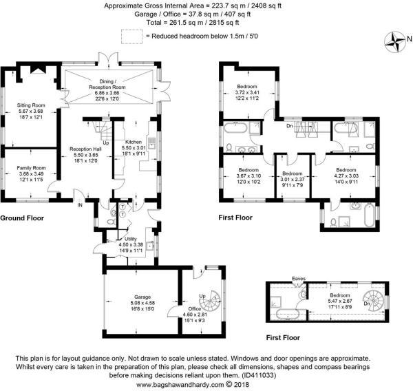 house. estate agency Ellens Green Crowthorne Floor