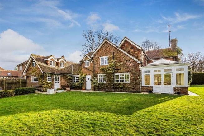 house. estate agency Ellens Green rear and garden