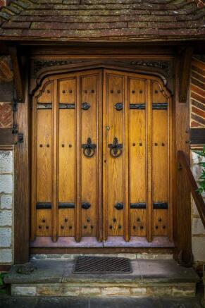 house. estate agency Leatherhead front door