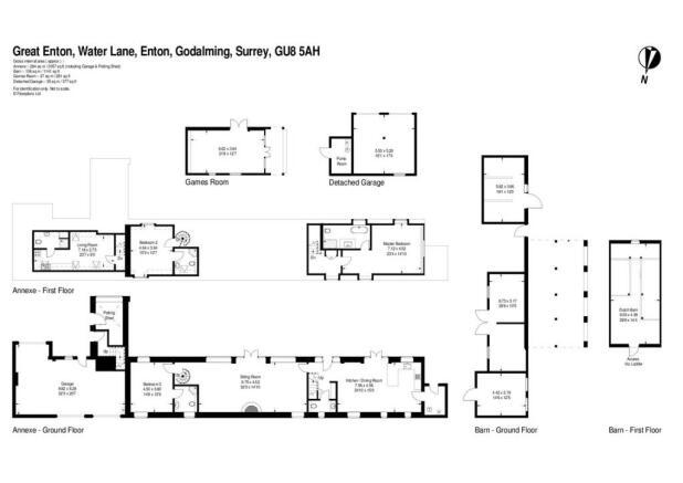 house. estate agency Enton Great Enton Floor Plans