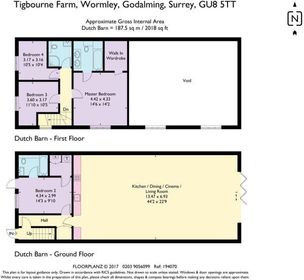 house. estate agency Wormley The Dutch Barn Floor