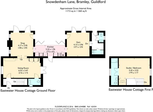 house estate agency Bramley Eastwater Cottage Floo