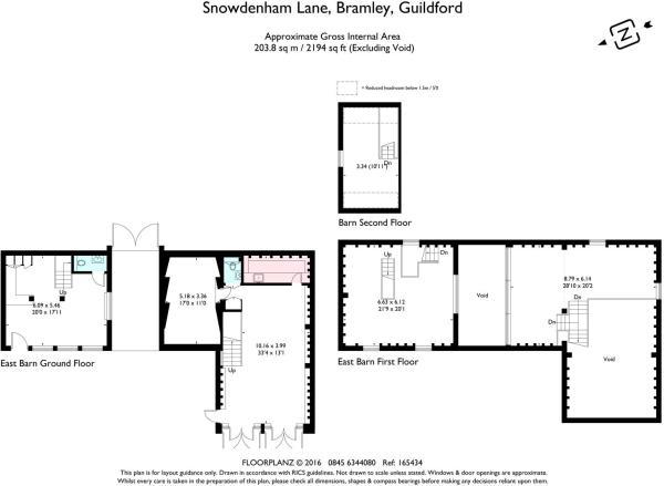 house estate agency Bramley Barn Floor Plans