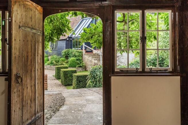 house. estate agency Bramley front door