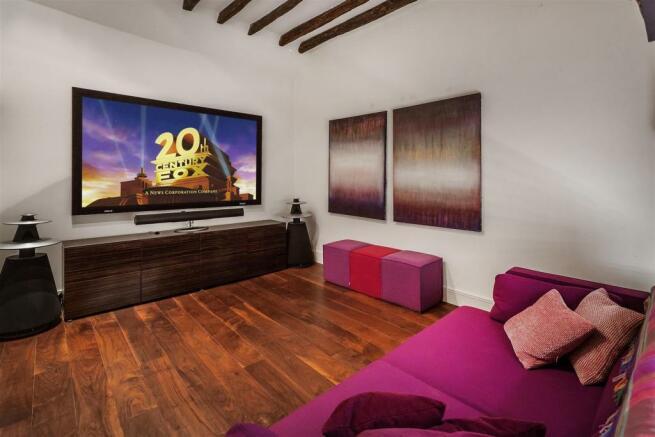 house. estate agency Bramley cinema room