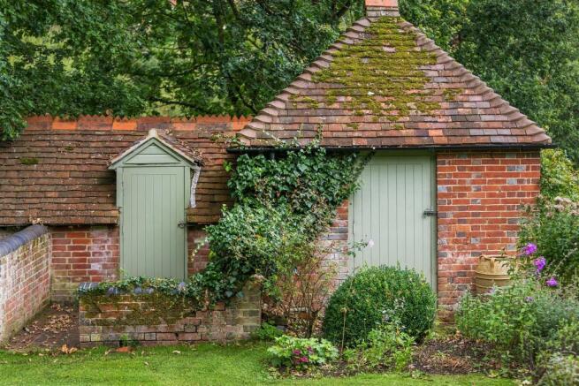 house. estate agency Bramley outbuilding