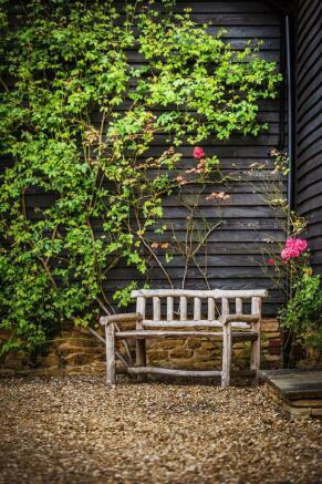 house. estate agency Bramley garden seat