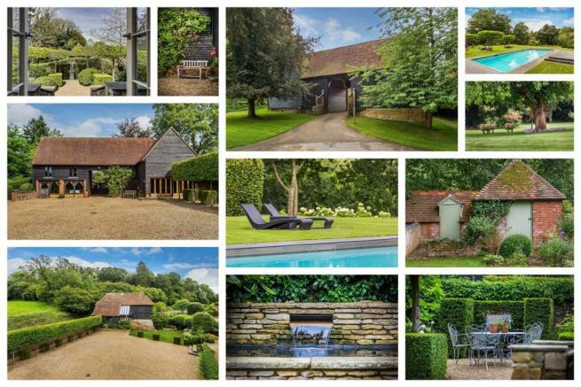 house. estate agency Bramley barns, gardens and gr