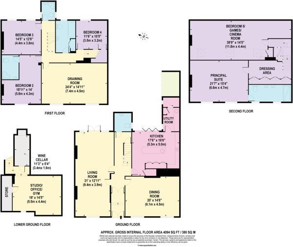 house. estate agency Guildford 44 Quarry Street Fl