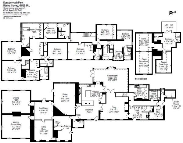 house. estate agency Ripley Dunsborough Park Floor