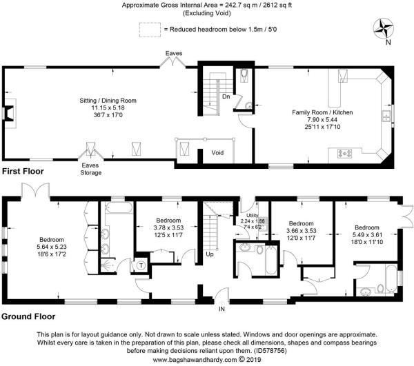 house. estate agency Bramley Beatrice House Floor