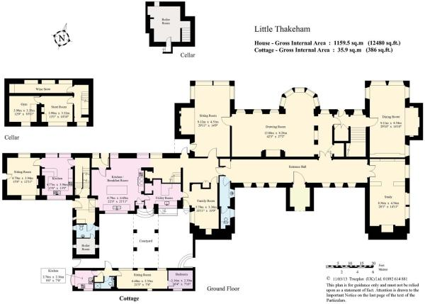 house. estate agency Little Thakeham Ground Floor