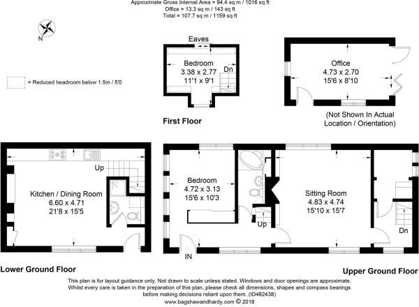 house. estate agency Frensham 7 The Grange Floor P
