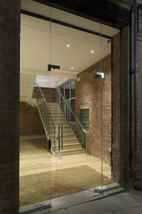 Glazed Entrance