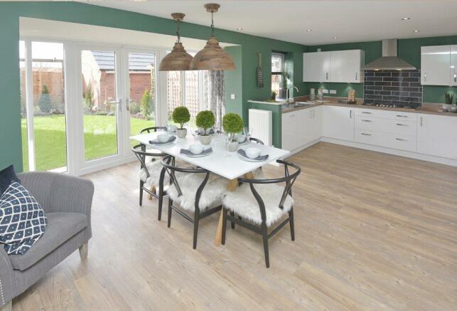 Holden Show Home Kitchen