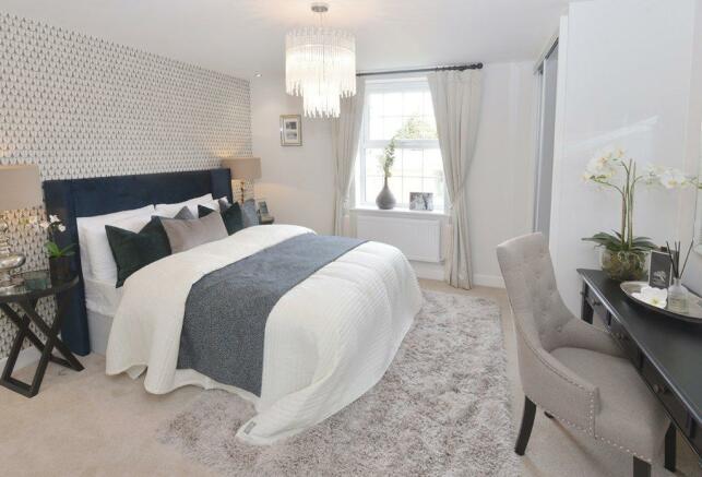 Holden Show Home Master Bedroom