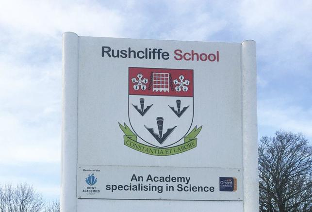 The Outstanding Ofsted rated Rushcliffe School