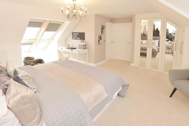 Lichfield Top Floor Bedroom