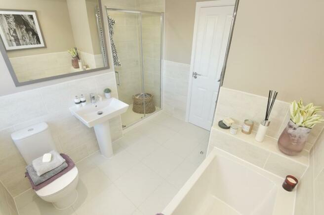 Lichfield Family Bathroom