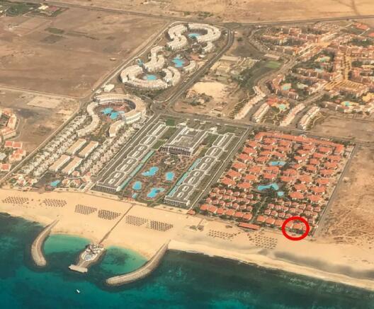 Location of villa