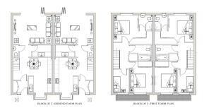 block of 2 floorpland