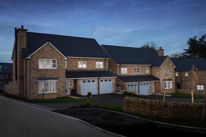 wharfedale menston street scene luxury new homes