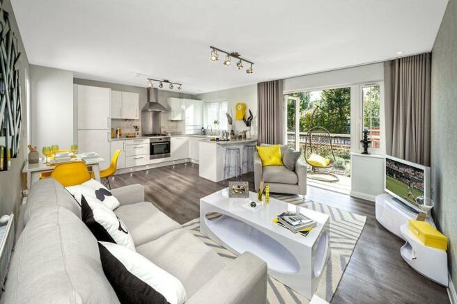 Stylish internal living space