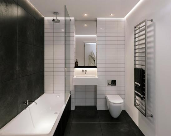 Warm Scheme Bathroom