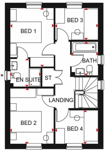 Ingleby FF floor plan