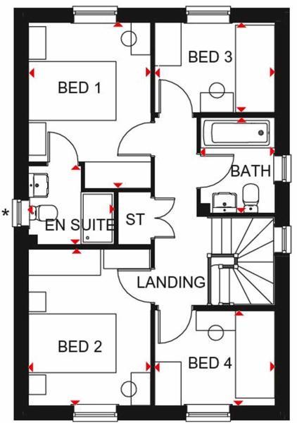 Ingleby FF floor plan