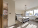 Master bedroom with en-suite and fitted wardrobes