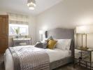 Spacious third bedroom