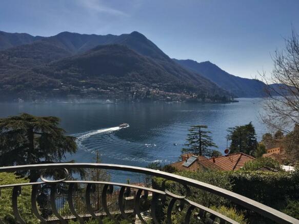 balcony lake view