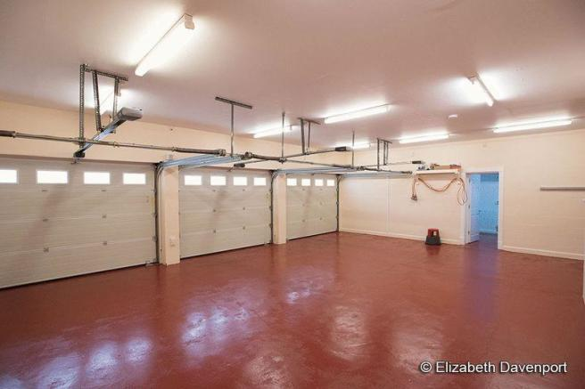 Triple Garage ...