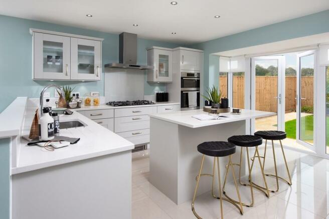 Marham Park Moorcroft Kitchen