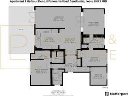 Apt 1 Harbour Dene - Floorplan