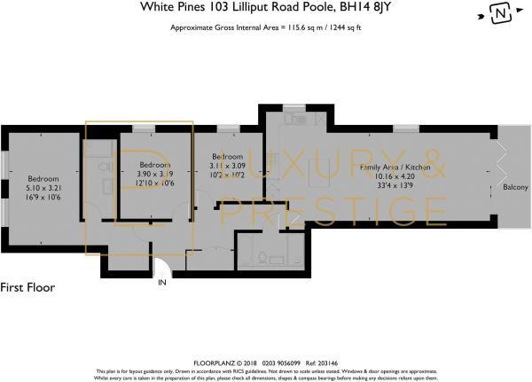Apt 4 - Floorplan