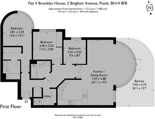 Apt 4 Brooklyn - Floorplan