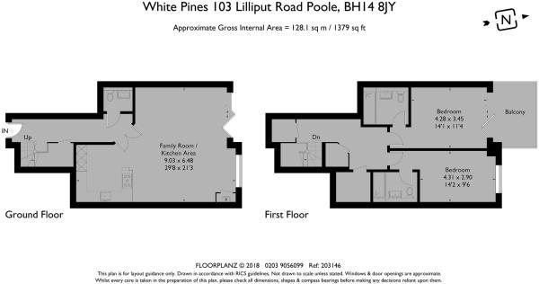 Apt 2 - Floorplan