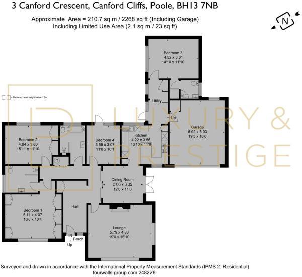 3 Canford Crescent - Floorplan