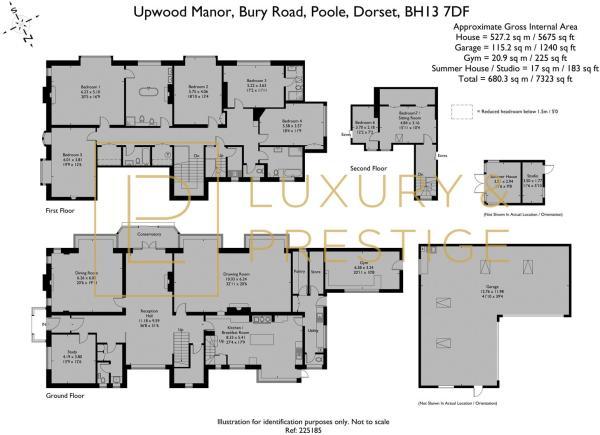 Upwood Manor - Floorplan