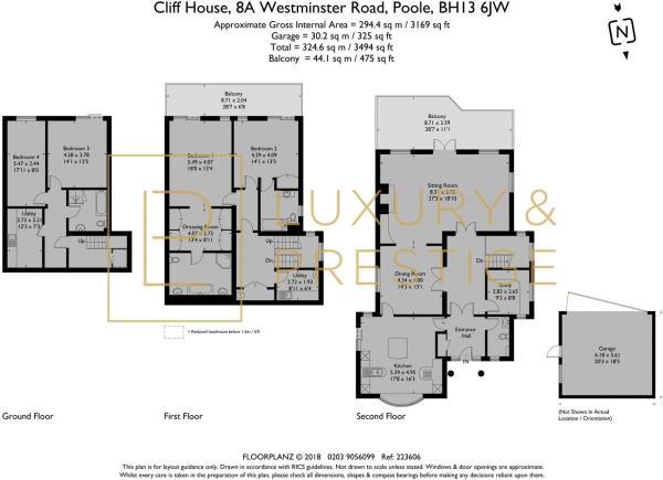 Cliff House - Floorplan