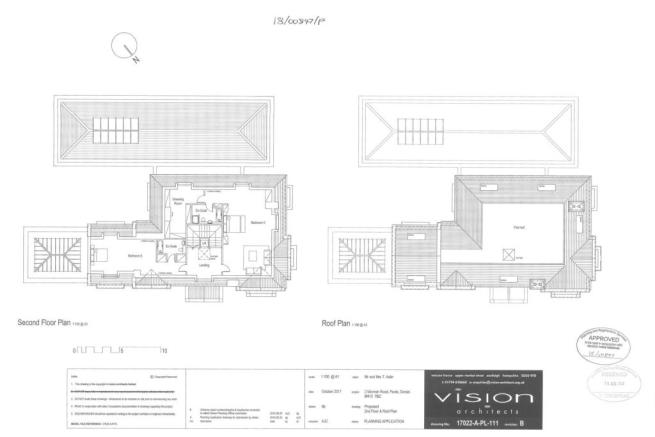 Second & Roof Plans
