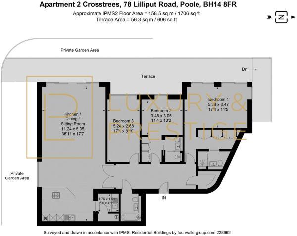 Apt 2 78 Crosstrees - Floorplan