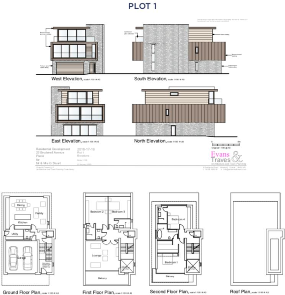 Plot 1, 23 Brudenell Avenue - Floorplan