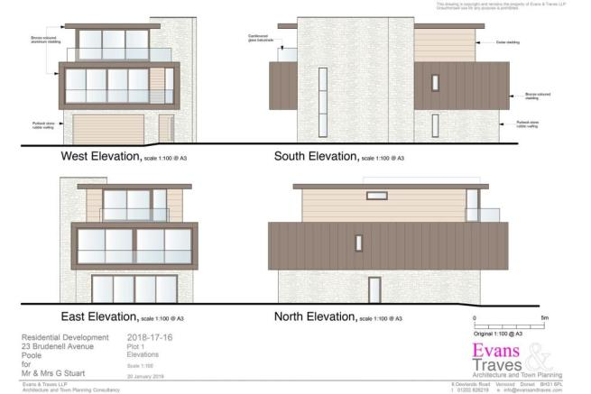 Plot 1  - Elevations